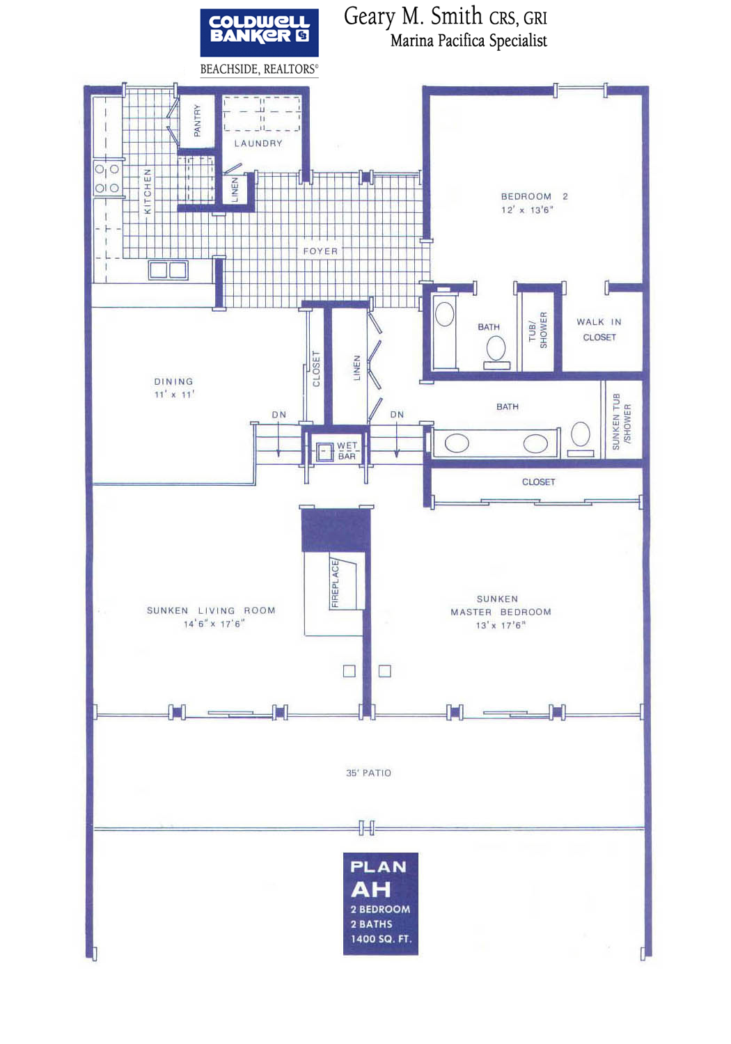 Floor Plans Marina Pacifica